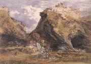 Samuel Palmer View at Tintagel oil painting picture wholesale